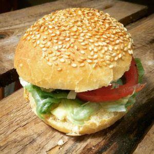 Rezept für Burger Brötchen mit Sauerteig 3