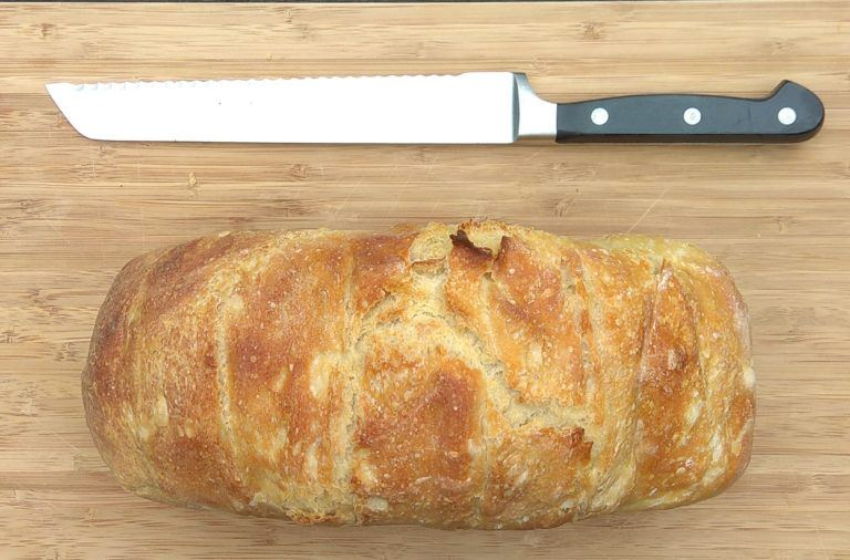 Fast white bread - the simplest bread recipe in the world