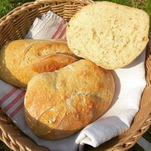 Recipe for wheat sourdough rolls 3