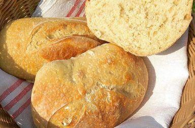 Recipe for wheat sourdough rolls 6