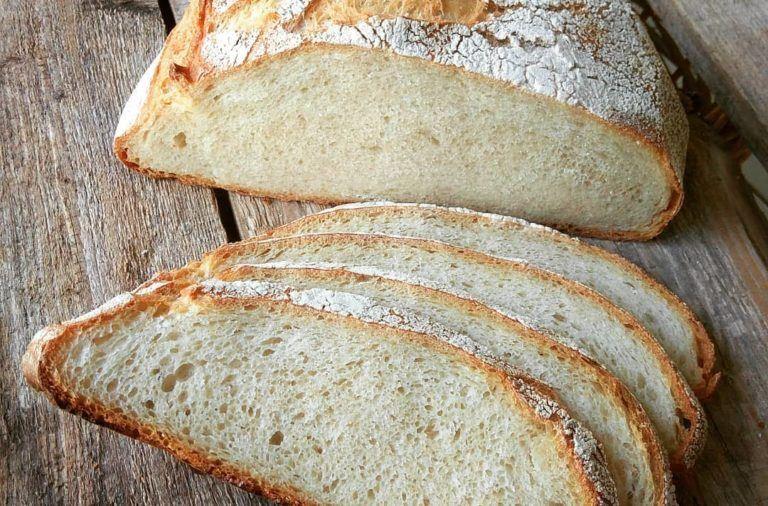 Rezept für ein Weizenbrot mit Hefe