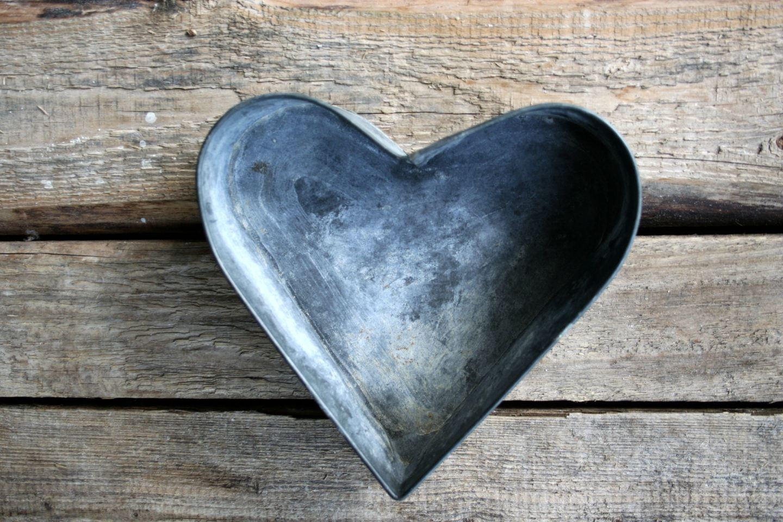 Herzform aus Metall