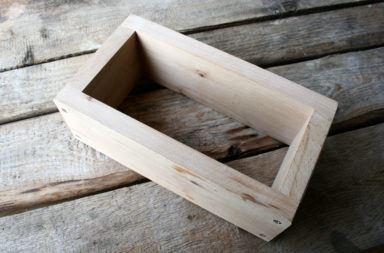Holzbackrahmen 10