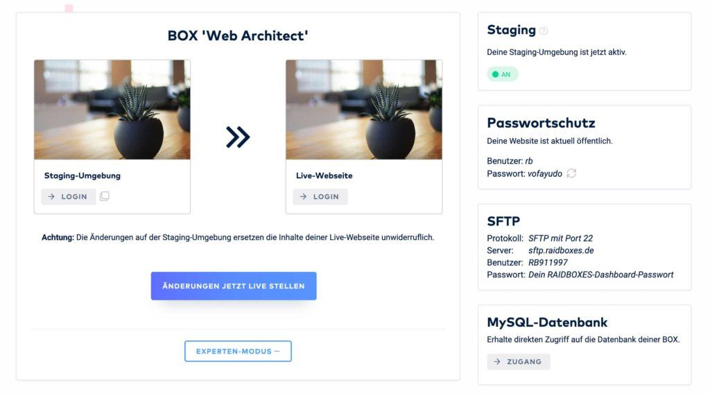 Wordpress Hosting with Raidboxes - A customer review after extensive testing 4
